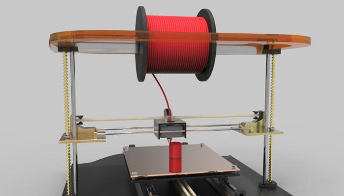 How does 3D printer work