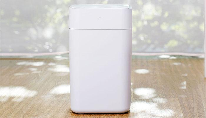 the design of Xiaomi's smart trash
