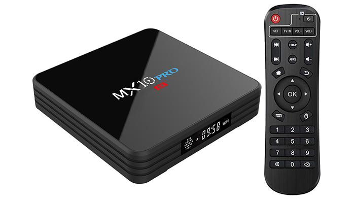 MX10 PRO TV Box ROM firmware pack | Download