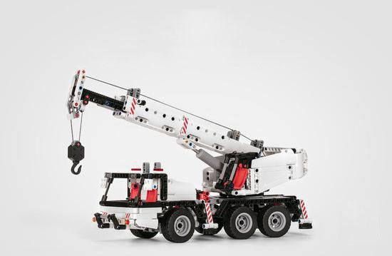 the design of MITU building block crane