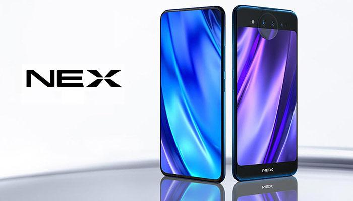 Vivo NEX's dual-screen version two color options