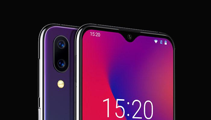 the front and rear cameras of UMIDIGI One Max