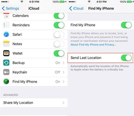 How to find your iPhone when it is power off or offline