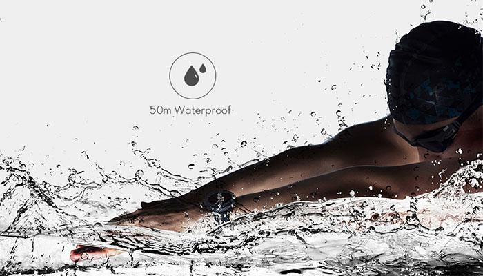 the waterproof of AMAZFIT pace 2