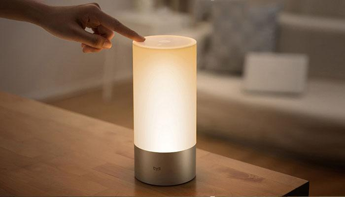 the controls of Xiaomi Mijia bedside lamp 1