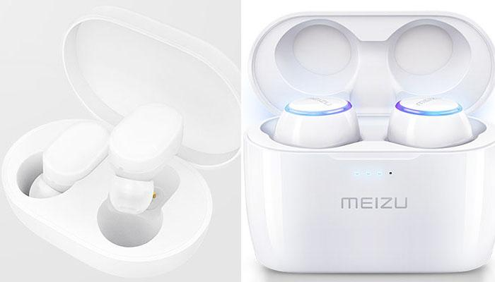 Xiaomi Mi AirDots vs. MEIZU POP: design