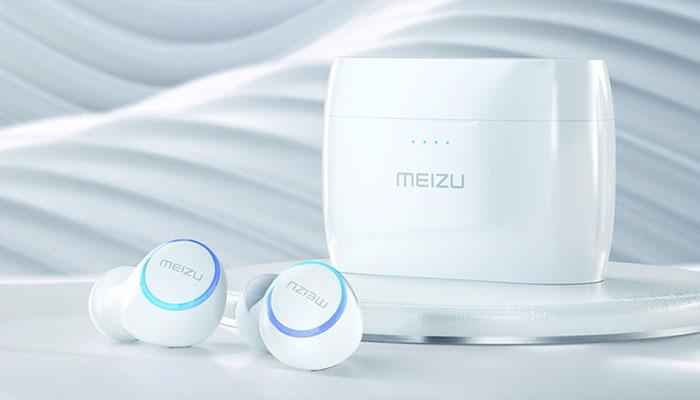 the control buttons and LED indicators on MEIZU POP earbuds