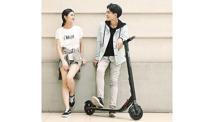 Ninebot Segway ES1 & ES2 folding electric scooter from
