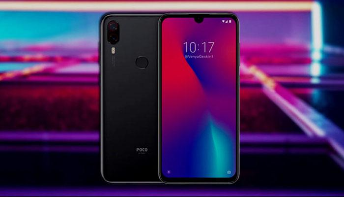 Xiaomi Pocophone F2 renders exposed: will come with waterdrop notch