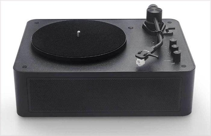 overall design of the record player