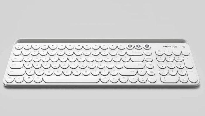xiaomi miiiw wireless bluetooth keyboard offered for. Black Bedroom Furniture Sets. Home Design Ideas