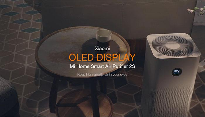 l'affichage OLED du purificateur d'air intelligent 2A d'origine Xiaomi OLED Display