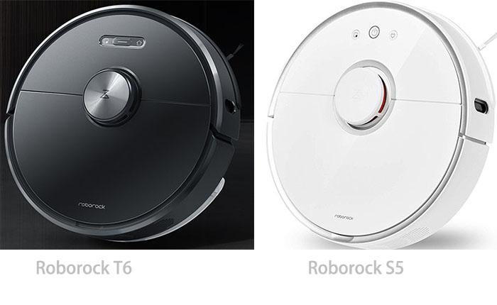 Roborock T6 vs  Roborock S5: smarter mapping, efficient noise