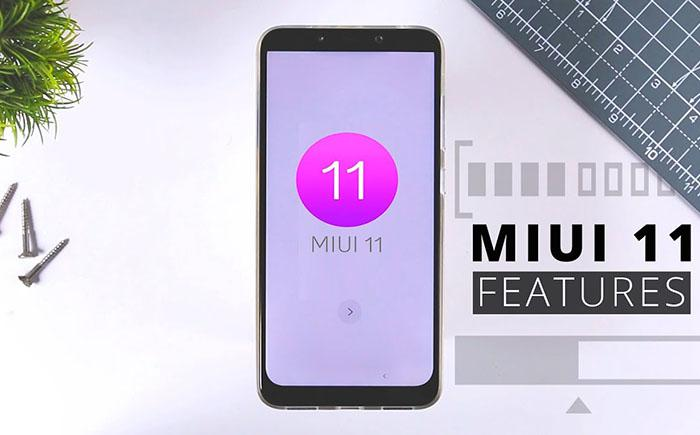 MIUI 11: dark mode, new UI elements     the new features of
