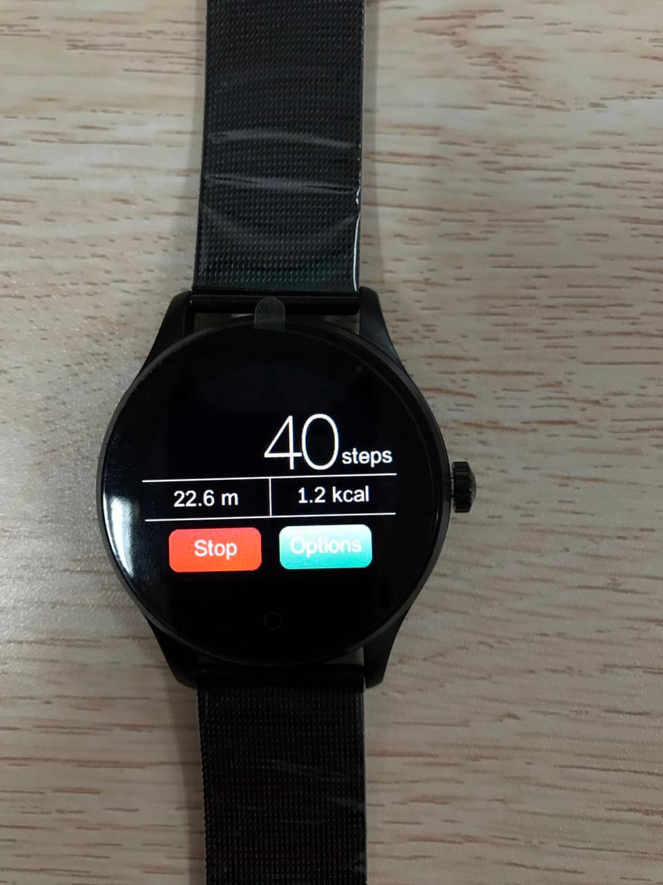 Reasons and solutions for K88H smart watch step calculation