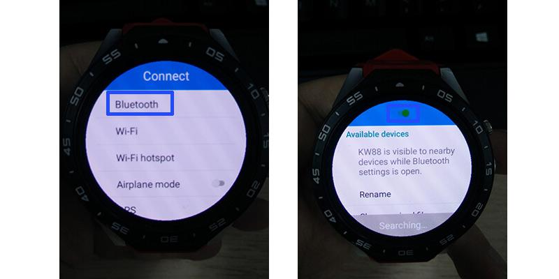 How to pair any KingWear KW88 Smartwatch Phone | GearBest Blog
