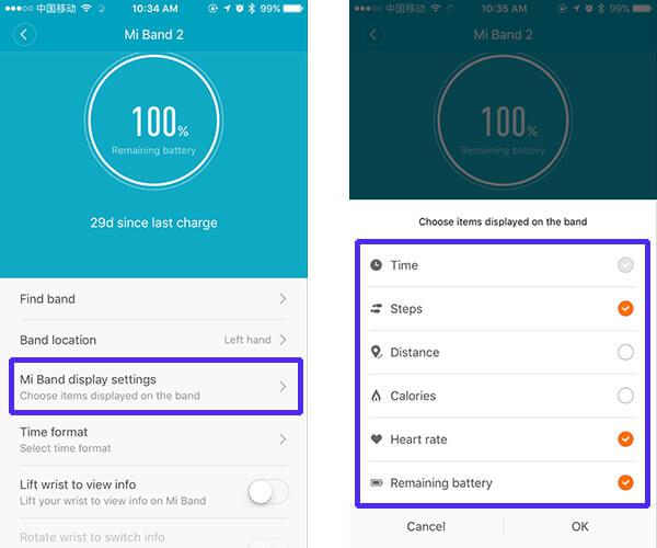 How to fix Xiaomi Mi Band 2 screen and display problems | GearBest Blog