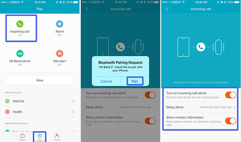 Xiaomi Mi Band 2 Guide | Enable incoming call, SMS & App