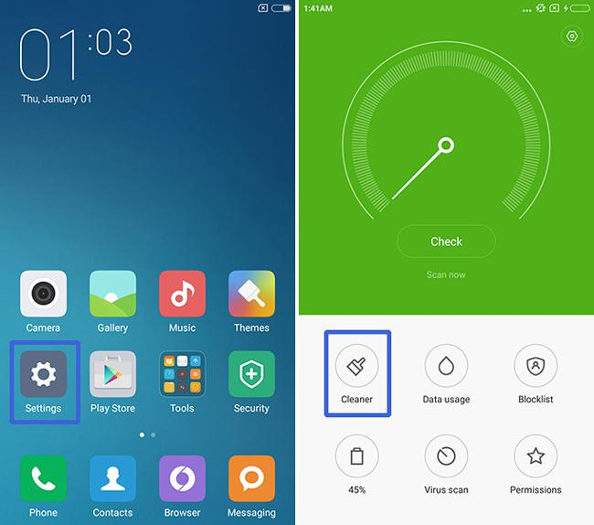 solve Xiaomi Redmi Note 2 screen problems