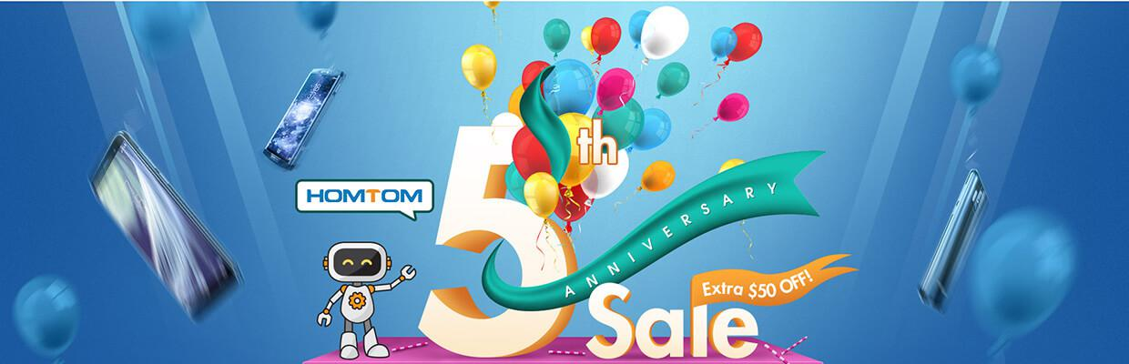Gearbest Homtom 5th sale
