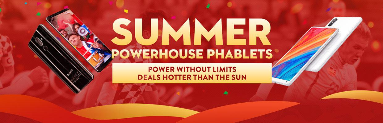 Mid-year sale summer powerhouse phablets